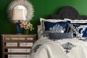 Фото 11 Интерьер бело-зеленой спальни: секреты гармоничных сочетаний и выбор декора