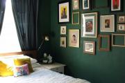 Фото 12 Интерьер бело-зеленой спальни: секреты гармоничных сочетаний и выбор декора