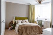 Фото 15 Интерьер бело-зеленой спальни: секреты гармоничных сочетаний и выбор декора