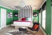 Фото 17 Интерьер бело-зеленой спальни: секреты гармоничных сочетаний и выбор декора