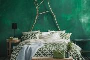 Фото 19 Интерьер бело-зеленой спальни: секреты гармоничных сочетаний и выбор декора