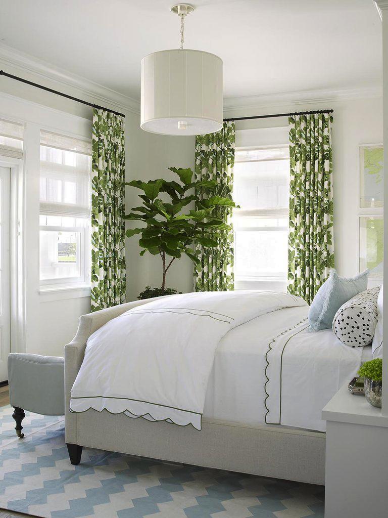 Бело-зеленая спальня 60 лучших интерьеров и советы дизайнеров