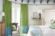Фото 23 Интерьер бело-зеленой спальни: секреты гармоничных сочетаний и выбор декора