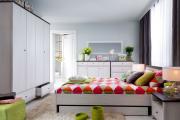 Фото 24 Интерьер бело-зеленой спальни: секреты гармоничных сочетаний и выбор декора