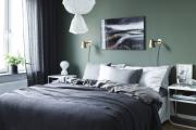 Фото 29 Интерьер бело-зеленой спальни: секреты гармоничных сочетаний и выбор декора