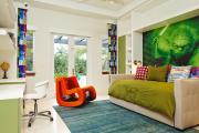Фото 30 Интерьер бело-зеленой спальни: секреты гармоничных сочетаний и выбор декора