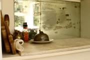 Фото 6 Зеркало в кухонном интерьере: секреты визуального расширения кухни