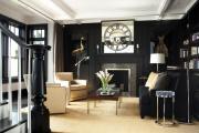 Фото 7 Черные интерьеры (65+ фото строгих и стильных решений): правила сочетаний черного и белого в дизайне