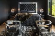 Фото 14 Черные интерьеры (65+ фото строгих и стильных решений): правила сочетаний черного и белого в дизайне