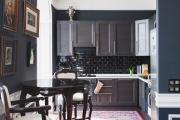 Фото 3 Черные интерьеры (65+ фото строгих и стильных решений): правила сочетаний черного и белого в дизайне