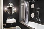 Фото 26 Черные интерьеры (65+ фото строгих и стильных решений): правила сочетаний черного и белого в дизайне