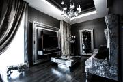 Фото 27 Черные интерьеры (65+ фото строгих и стильных решений): правила сочетаний черного и белого в дизайне