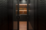 Фото 28 Черные интерьеры (65+ фото строгих и стильных решений): правила сочетаний черного и белого в дизайне