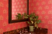 Фото 6 Этюд в алых тонах: 65+ фото классических и современных интерьеров с красными обоями