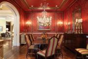 Фото 30 Этюд в алых тонах: 65+ фото классических и современных интерьеров с красными обоями