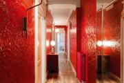 Фото 18 Этюд в алых тонах: 65+ фото классических и современных интерьеров с красными обоями