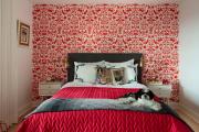 Фото 20 Этюд в алых тонах: 65+ фото классических и современных интерьеров с красными обоями