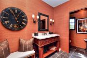 Фото 23 Этюд в алых тонах: 65+ фото классических и современных интерьеров с красными обоями