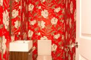 Фото 25 Этюд в алых тонах: 65+ фото классических и современных интерьеров с красными обоями