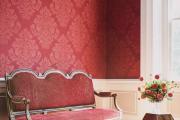Фото 28 Этюд в алых тонах: 65+ фото классических и современных интерьеров с красными обоями