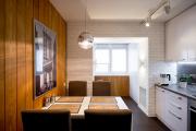 Фото 4 Светлые мини-решения: особенности дизайна кухни 10 кв. метров с балконом