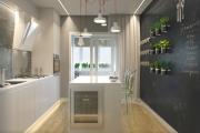 Фото 14 Светлые мини-решения: особенности дизайна кухни 10 кв. метров с балконом