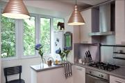 Фото 16 Светлые мини-решения: особенности дизайна кухни 10 кв. метров с балконом
