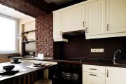 Фото 20 Светлые мини-решения: особенности дизайна кухни 10 кв. метров с балконом