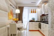 Фото 22 Светлые мини-решения: особенности дизайна кухни 10 кв. метров с балконом