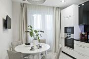 Фото 28 Светлые мини-решения: особенности дизайна кухни 10 кв. метров с балконом