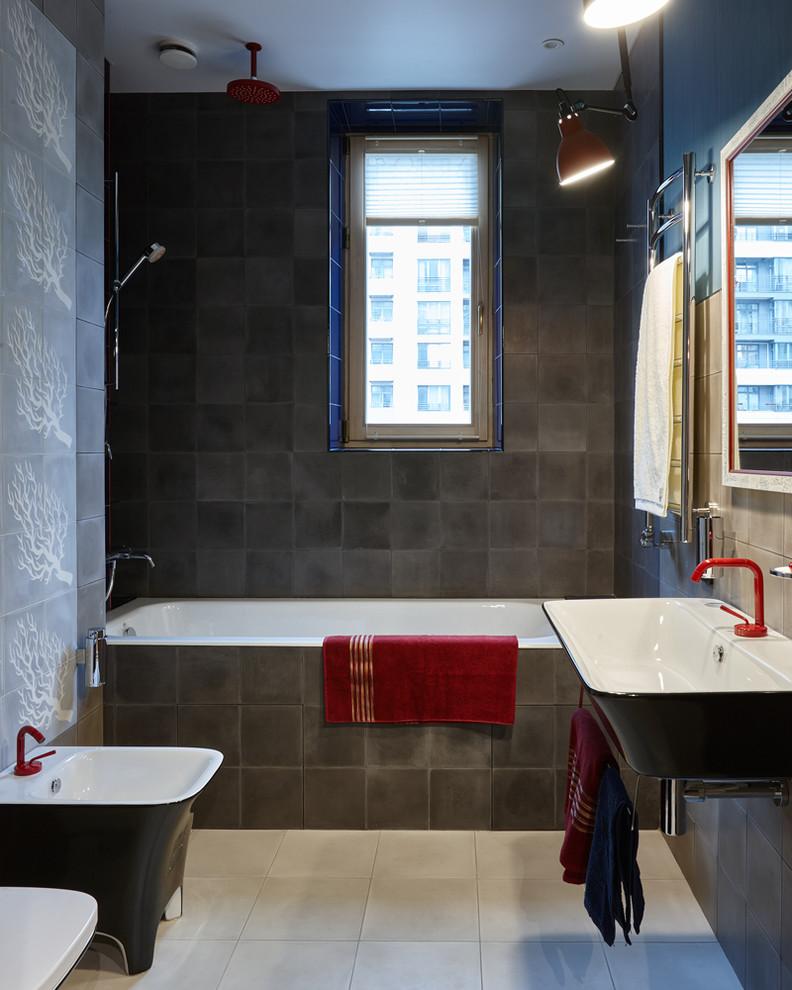 Туалет и санузел в стиле лофт 60 стильных интерьеров