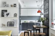 Фото 4 Экономия места без ущерба удобству: как выбрать стол и стулья для маленькой кухни?