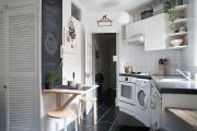 Фото 7 Экономия места без ущерба удобству: как выбрать стол и стулья для маленькой кухни?