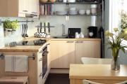 Фото 13 Экономия места без ущерба удобству: как выбрать стол и стулья для маленькой кухни?