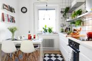 Фото 14 Экономия места без ущерба удобству: как выбрать стол и стулья для маленькой кухни?
