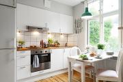 Фото 15 Экономия места без ущерба удобству: как выбрать стол и стулья для маленькой кухни?
