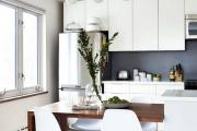Фото 16 Экономия места без ущерба удобству: как выбрать стол и стулья для маленькой кухни?