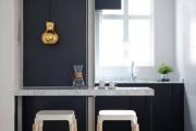 Фото 17 Экономия места без ущерба удобству: как выбрать стол и стулья для маленькой кухни?