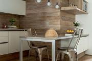 Фото 19 Экономия места без ущерба удобству: как выбрать стол и стулья для маленькой кухни?
