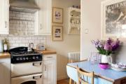 Фото 20 Экономия места без ущерба удобству: как выбрать стол и стулья для маленькой кухни?