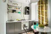 Фото 21 Экономия места без ущерба удобству: как выбрать стол и стулья для маленькой кухни?