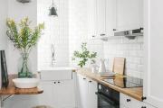 Фото 27 Экономия места без ущерба удобству: как выбрать стол и стулья для маленькой кухни?