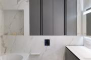 Фото 4 Альтернатива плитке в ванной: выбор экспертов — чем можно заменить кафель в санузле?