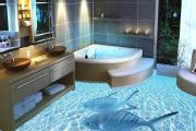 Фото 5 Альтернатива плитке в ванной: выбор экспертов — чем можно заменить кафель в санузле?
