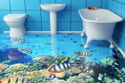 Фото 6 Альтернатива плитке в ванной: выбор экспертов — чем можно заменить кафель в санузле?