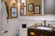 Фото 9 Альтернатива плитке в ванной: выбор экспертов — чем можно заменить кафель в санузле?