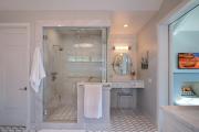 Фото 15 Альтернатива плитке в ванной: выбор экспертов — чем можно заменить кафель в санузле?