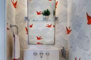 Фото 16 Альтернатива плитке в ванной: выбор экспертов — чем можно заменить кафель в санузле?