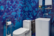 Фото 23 Альтернатива плитке в ванной: выбор экспертов — чем можно заменить кафель в санузле?