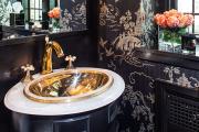 Фото 26 Альтернатива плитке в ванной: выбор экспертов — чем можно заменить кафель в санузле?